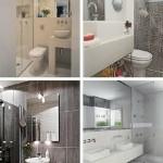 Modelos de decoração de banheiros pequenos (Foto: Divulgação)
