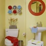 As toalhas podem decorar o banheiro (Foto: Divulgação)