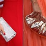 Bolsa-carteira com brilho combina com o look de festa. (Foto:Divulgação)