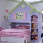 Quarto decorado com tema Casa de Boneca. (Foto:Divulgação)