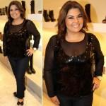 Fabiana Karla é outra gordinha que faz sucesso na TV (Foto: Divulgação)