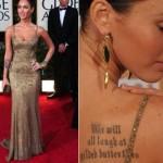 Quando usa longo, Megan Fox dá um show de elegância. (Foto:Divulgação)