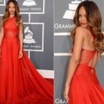 Rihanna foi a famosa mais bem vestida da noite. (Foto:Divulgação)