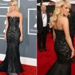Vestido de Carrie Underwood. (Foto:Divulgação)