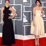 Vestidos de Kelly Osbourne e Alexa Chung. (Foto:Divulgação)