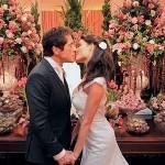 O cantor Daniel usou rosa na decoração de seu casamento (Foto: Divulgação)