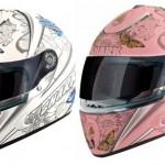 A Shark possui diversas opções de capacetes femininos. (Foto Divulgação)