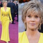 Vestido de Jane Fonda. (Foto:Divulgação)