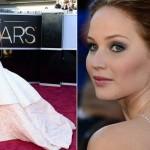 Vestido de Jennifer Lawrence. (Foto:Divulgação)