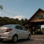 O carro foi lançado em Joinville, Santa Catarina. (Foto: Divulgação).