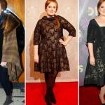 Os looks sofisticados e retrô de Adele. (Foto:Divulgação)