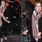 As roupas escolhidas por Adele valorizam o seu corpo. (Foto:Divulgação)