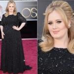 Vestido usado por Adele no Oscar. (Foto:Divulgação)