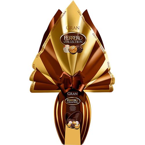 Ovo Ferrero Rocher feito com o delicioso chocolate ao leite Ferrero (Foto Divulgação: MdeMulher)