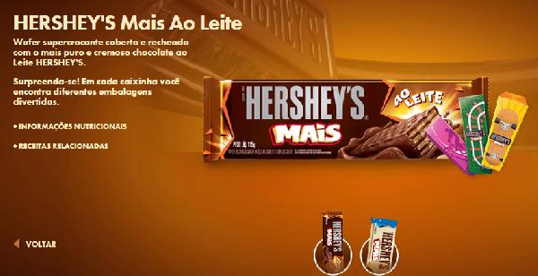 Uma barra de chocolate para cada estilo (Foto Divulgação: Hershey's)