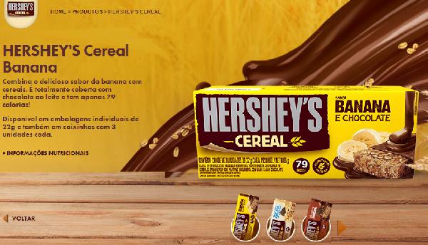 Hershey's Cereal para quem busca um alimento saudável (Foto Divulgação: Hershey's)