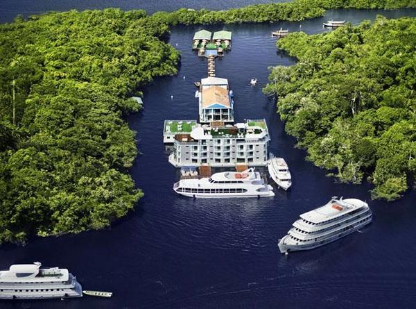 A Amazônia é um dos lugares mais bonitos do Brasil (Foto: Divulgação)