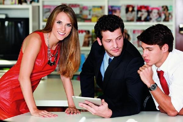 Jovens encontram uma oportunidade através dos cursos do Pronatec (Foto: Divulgação Exame/Abril)