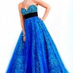 O azul é uma das cores mais solicitadas pelas debutantes. (Foto Divulgação)