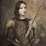 Heroína da Guerra dos Cem Anos, Joana D´Arc (1412-1431) dizia ouvir vozes que a orientavam no comando  de suas tropas (Foto: Divulgação)