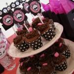 Cupcake padrão com o símbolo da Monster High (Foto: Divulgação)