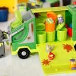 Os caminhões de lixo podem ser úteis na decoração. (Foto:Divulgação)
