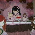 A aniversariante pode escolher a sua boneca Jolie favorita para ser o destaque da festa. (Foto:Divulgação)