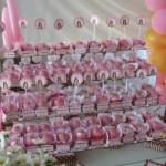 Docinhos decorados com o tema Jolie. (Foto:Divulgação)