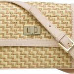 Bolsa com detalhes em palha, ideal para o uso cotidiano. (Foto Divulgação)