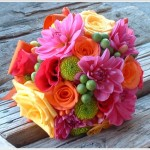 Buquê de noiva com flores conservadas (Foto: Divulgação)