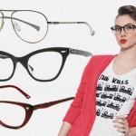 Vários modelos de armações de óculos podem ser encontradas. (Foto: divulgação)