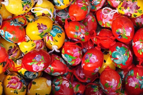 Ovos desenhados e pintados. (Foto Divulgação: Pixabay)