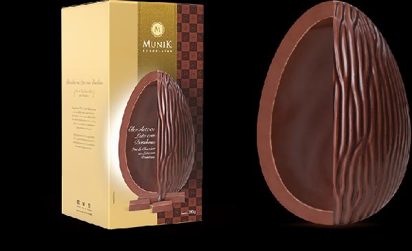 Ovo Chocolate ao Leite Munik (Foto Divulgação: Munik)
