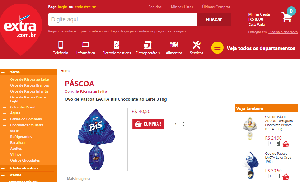 Ovos de Páscoa no Extra 2016, preços
