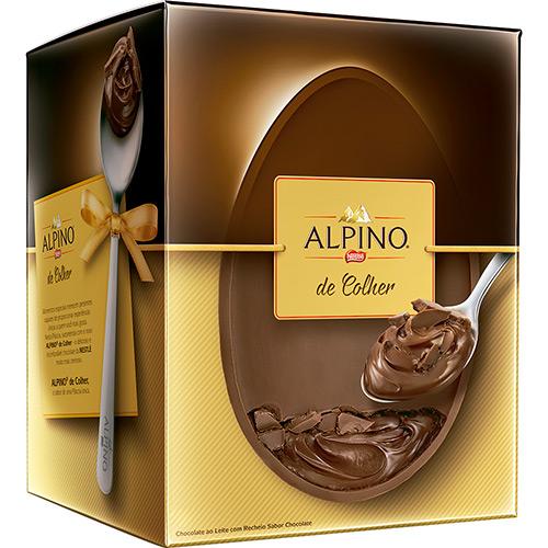 Ovo de Páscoa Alpino Ao Leite Colher 360g - Nestlé(Foto Divulgação: Americnas)