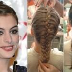 Penteados feitos com tranças: fotos