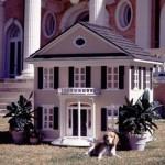 Casinha de cachorro parece casa de verdade. (Foto:Divulgação)