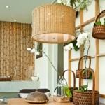 O bambu deixa a decoração com um ar rústico e charmoso. (Foto:Divulgação)