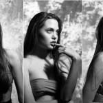 Fotos inéditas de quando Jolie tinha 16 anos. (Foto:Divulgação)