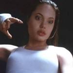 Angelina Jolie no filme 'Cyborg 2'.  (Foto:Divulgação)