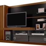 A estante é um item fundamental para a sala de estar. (Foto:Divulgação)