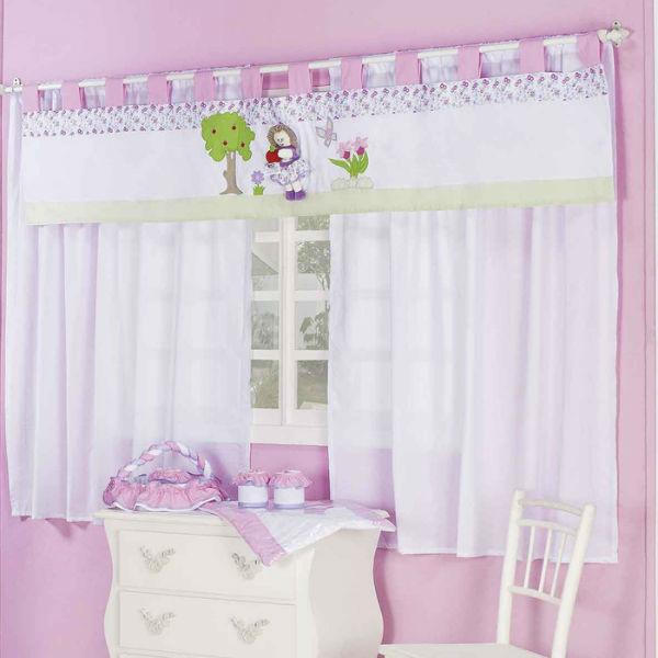 Cortinas para quarto de bebê feminino dicas, fotos