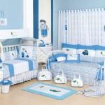 O azul é um clássico para cortinas e o quarto do bebê (Foto: divulgação)
