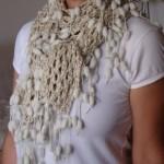 Cachecol de crochê: modelos, dicas para usar