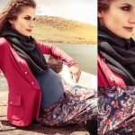 Moda gestante inverno 2013: estampas e cores