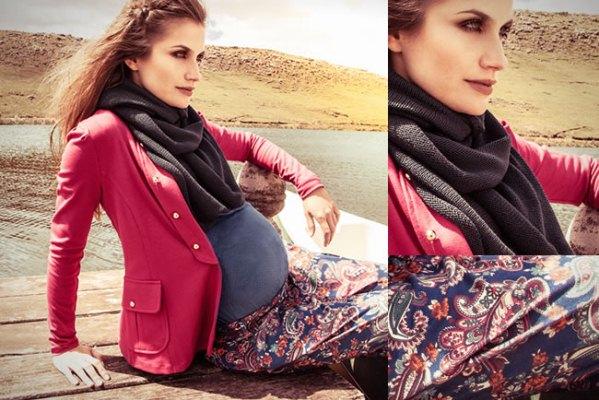 As grávidas também devem se vestir com elegância (Foto: Divulgação)