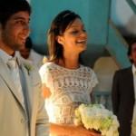 A renda torna o vestido de noiva mais delicado. (Foto:Divulgação)