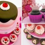 Bolo inspirado em cupcakes. (Foto:Divulgação)