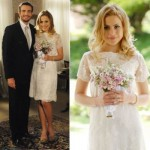 Vestido de noiva romântico e delicado. (Foto:Divulgação)