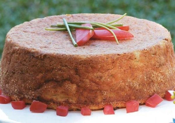 Bolo de Bacalhau delicioso para o Dia das Mães (Foto: Divulgação MdeMulher)
